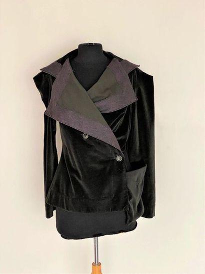 VIVIENNE WESTWOOD Velvet jacket and flannel...