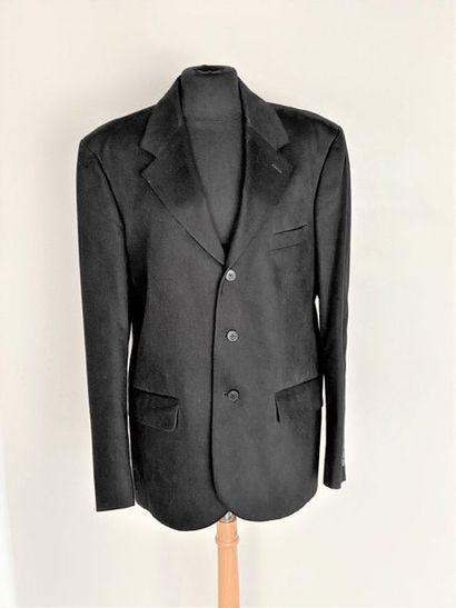 AGNES B Man Black cotton jacket Size 54