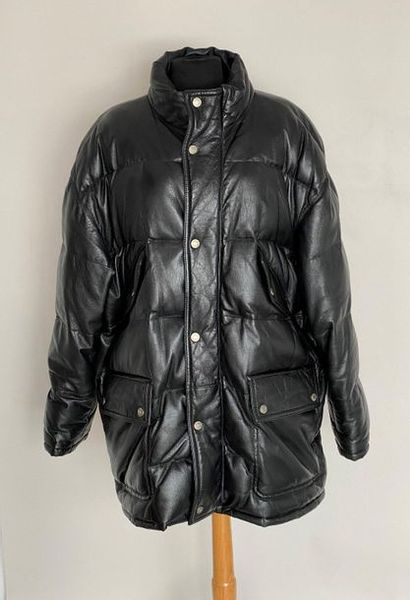 GUCCI Made in Italy Black leather jacket...