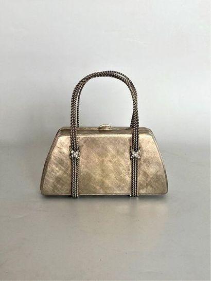 RODO Petit sac panier à 2 anses en métal...