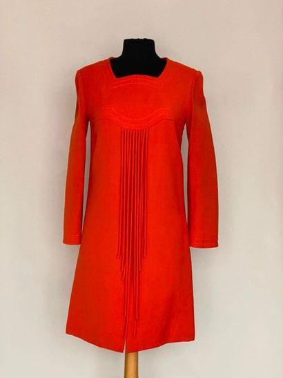 PIERRE CARDIN Promotion Paris Robe en lainage...