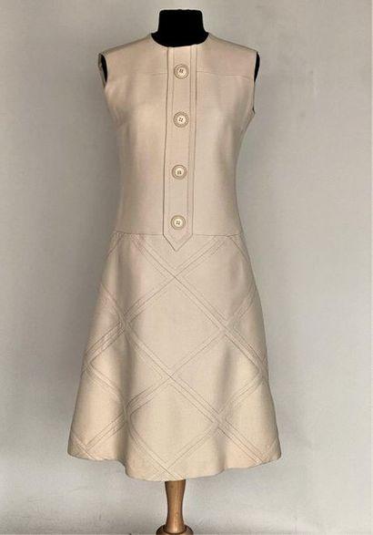 TED LAPIDUS Paris Diffusion Robe chasuble...