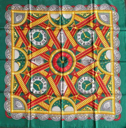 ROLEX Silk scarf vet background