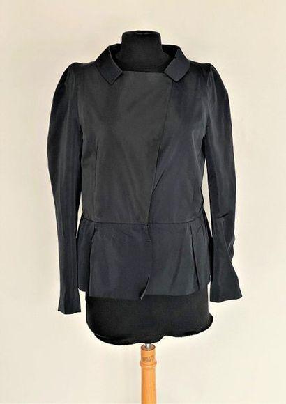MARNI Blouse en polyester noir Taille 40