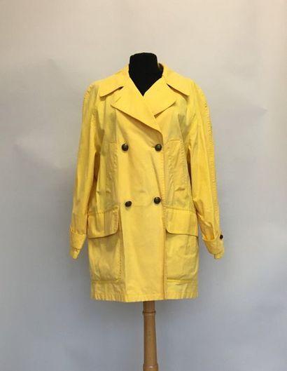 BURBERRYS Veste de pluie en coton et polyurethane...
