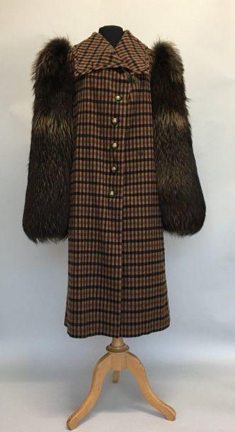 SONIA RYKIEL Manteau en cachemire et laine...