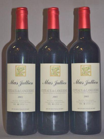 3 Bouteilles MAS JULIEN. 2005