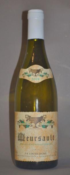 1 Bouteille MEURSAULT - COCHE DURY. 2004...