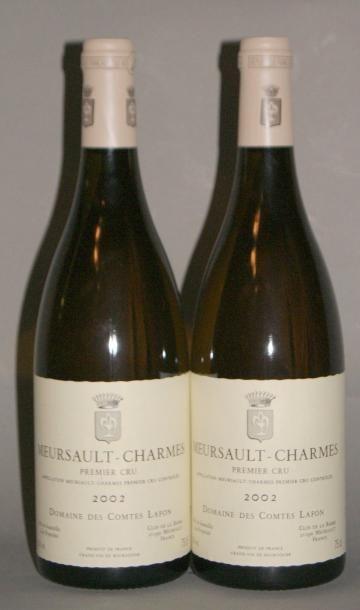 2 Bouteilles MEURSAULT CHARMES - COMTES LAFON....