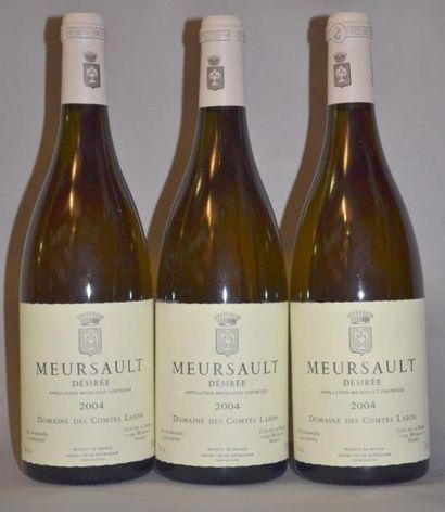 3 Bouteilles MEURSAULT
