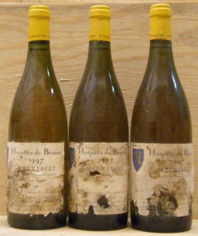 3 Bouteilles MEURSAULT HOSPICES DE BEAUNE...