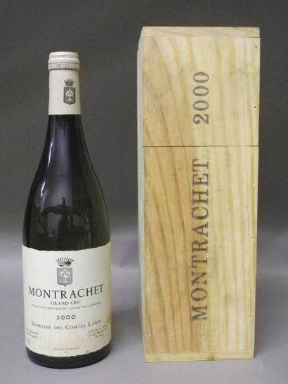 1 Bouteille MONTRACHET - COMTES LAFON. 2000...