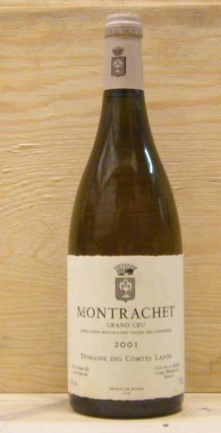 1 Bouteille MONTRACHET - COMTES LAFON. 2001...