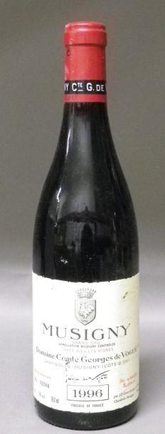 1 Bouteille MUSIGNY COMTE DE VOGÜE. 1996...