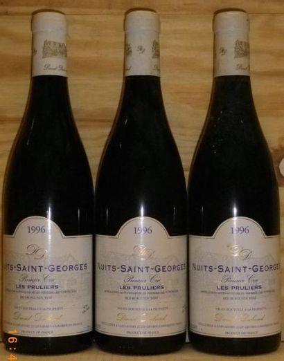 3 Bouteilles NUITS SAINT GEORGES