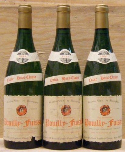 3 Bouteilles POUILLY FUISSE