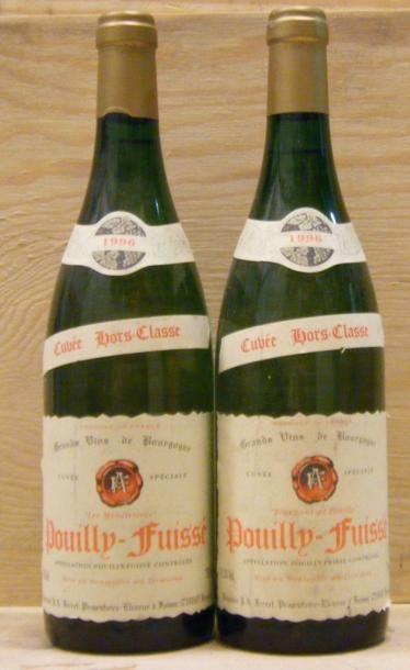 2 Bouteilles POUILLY FUISSE