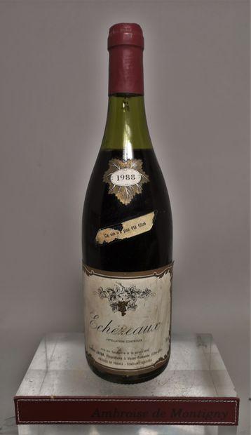 1 bouteille ECHEZEAUX Grand cru - Lucien...