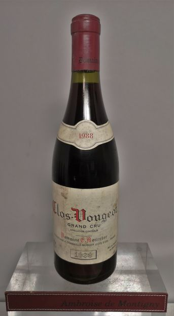 1 bouteille CLOS VOUGEOT Grand Cru - Domaine...