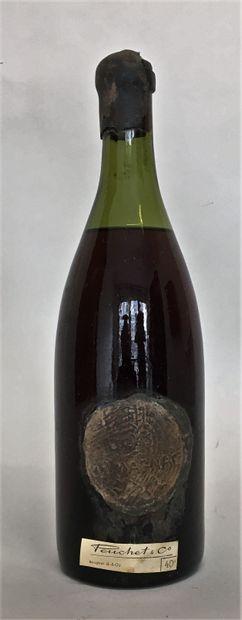 1 bouteille BAS ARMAGNAC PUECHET Flacon ancien...