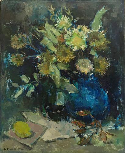 MARYSE DUCAIRE (1911-1992) Bouquet de fleurs...