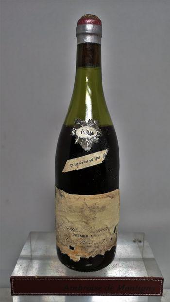 1 bouteille VOSNE ROMANEE 1er cru