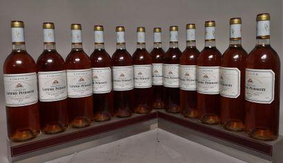 12 bouteilles CHÂTEAU LAFAURIE-PEYRAGUEY...