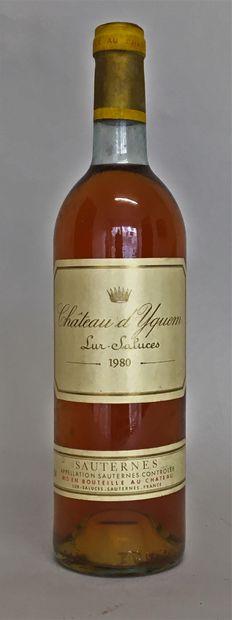 1 bouteille Château D'YQUEM - 1er Gc supérieur...