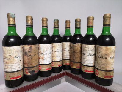 8 bouteilles CHÂTEAU PATRIS - St Emilion...