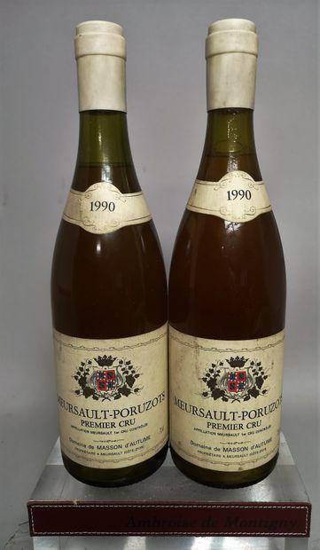 2 bouteilles MEURSAULT 1er cru