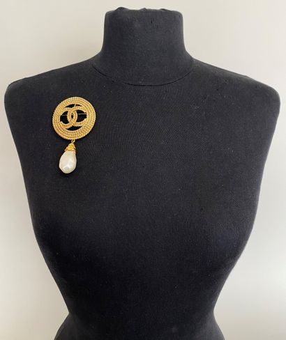 CHANEL Made in france Pendentif circulaire...