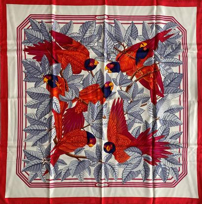 HERMES Paris Les perroquets par Joachim...