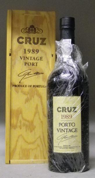 1 BOUTEILLE PORTO CRUZ 1989