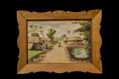 Kim-ANH (XXème siècle)  Le village vietnamien...