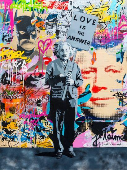 Mr BRAINWASH (1966)  Einstein, 2011  Technique...