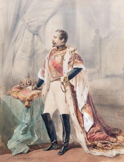 Jean-Louis DAVID (1792-1868)  Napoléon III...