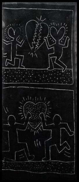 Keith HARING (1958-1990)  Untitled, Subway...
