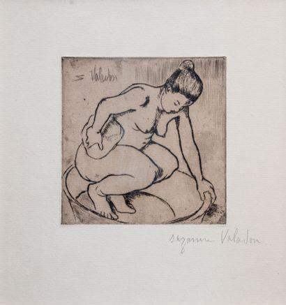 Suzanne VALADON (1865-1938)  Catherine accroupie...