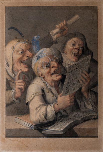 Attribué à Cornelis DUSSART (1660-1704)  La...
