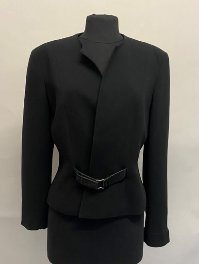 ANGELO TARLAZZI Paris Veste en lainage noir...