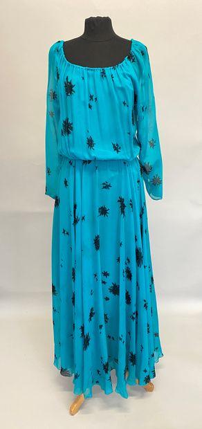 GUY LAROCHE Boutique Collection Robe longue...