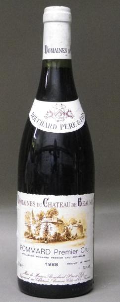 1 BOUTEILLE POMMARD 1er CRU - BOUCHARD P...