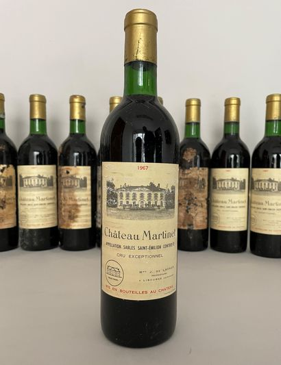 16 Bouteilles Chateau Martinet Appellation...