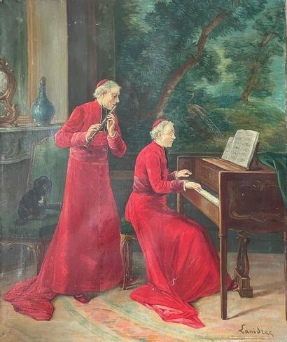 LANIDRED (XIXème) Les cardinaux musiciens....