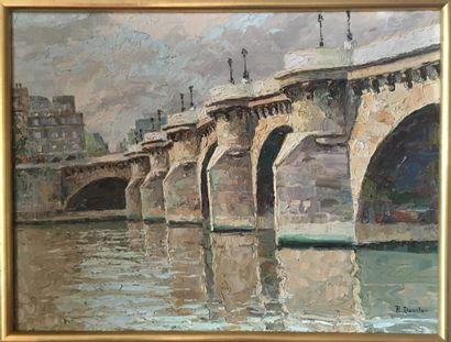 ROBERT DANSLER (1900-1972) Pont de Paris...