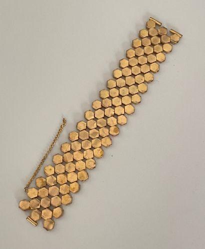 YVES SAINT LAURENT par DENEZ Bracelet ruban...