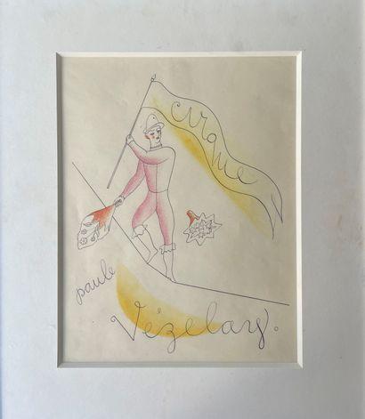 PAULE VEZELAY(1892-1984) Le cirque circa...