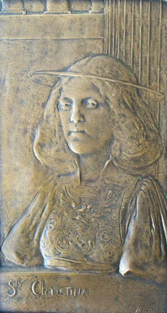 GEO FRAMPTON (1860-1928) Sainte Christina...
