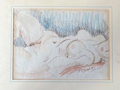 REGINALD GOODFELLOW ( 1894-1985) Nus féminins...