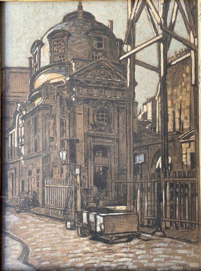 PIERRE GASTON RIGAUD (1874-1935) Hotel de...